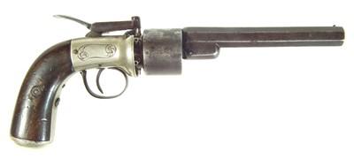 Lot 251 - Baker's Patent transitional revolver