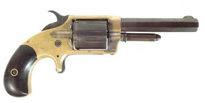 Lot 253 - Whitneyville Amoury .32 rimfire pocket revolver