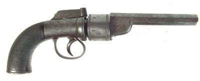Lot 244 - Percussion transitional revolver