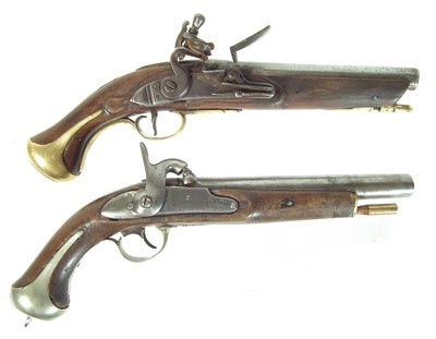 Lot 218 - Two composed pistols
