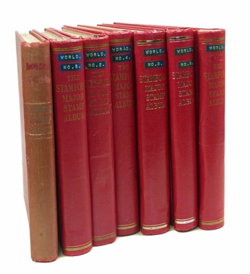 Lot 63 - All World mainly foreign stamp collection in seven Stamford Major albums