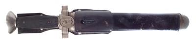 Lot 100 - German WWII Third Reich Red Cross Dagger