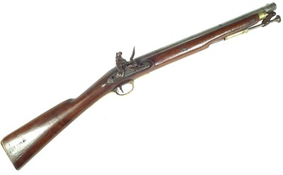 Lot Flintlock Ordnance Paget carbine