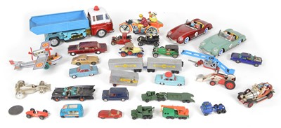 Lot 79 - Collection of Tinplate and Diecast vehicles