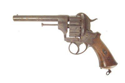Lot Lafaucheux pinfire 10 shot 11mm revolver