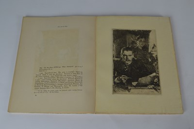 Lot 107 - Zorn's Engraved Work, 2 Volumes