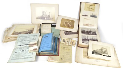 Lot 67 - Collection of photographs, documents, patents and ephemera relating to John Standfield (1838-1890)