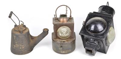 Lot 9 - Three Lamps
