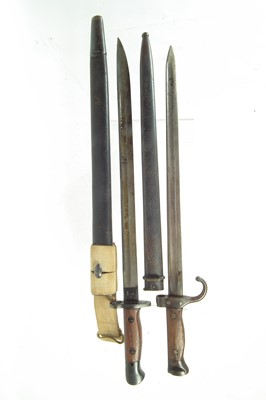 Lot 52 - Two bayonets