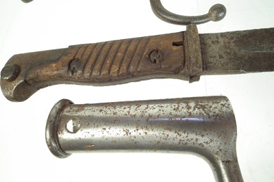 Lot 71 - Four bayonets