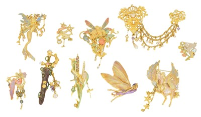 Lot 88 - A large selection of designer jewellery by Kirks Folly