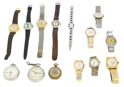 Lot 109 - A large selection of watches