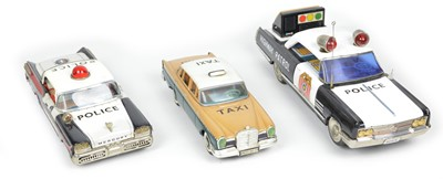 Lot 65 - Three Tinplate Cars