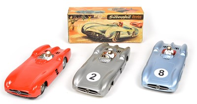 Lot 64 - Three 1950s JNF Mercedes Benz W196 Racing Cars