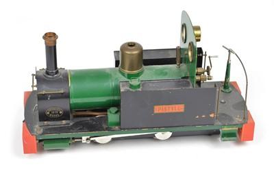 Lot 19 - GWR 0-4-0ST Pistyll 1 Gauge steam locomotive