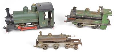 Lot 20 - Three live steam Locomotives