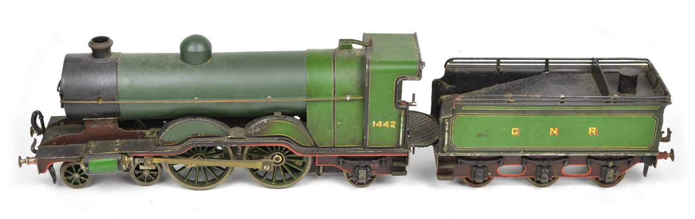 Lot 17 - 1 Gauge 4-4-2 GNR No.1442 locomotive with tender.