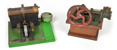 Lot 37 - Two steam engines