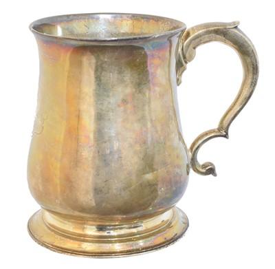 Lot 200 - A George II silver mug