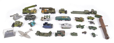 Lot 101 - Military Themed Diecast Vehicles and Toys
