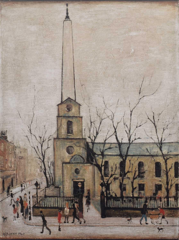 Lot 64 - L.S. Lowry R.A. (British 1887-1976)