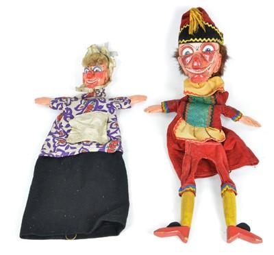 Lot 127 - Punch & Judy Puppets