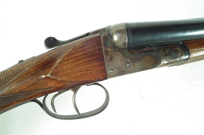 Lot San Marco Gardone 12 bore side by side shotgun, LICENCE REQUIRED