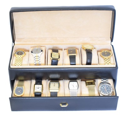Lot 111 - A selection of watches