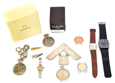 Lot 110 - A selection of watches