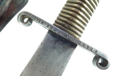 Lot 44 - Floyd Nickels US Fighting knife
