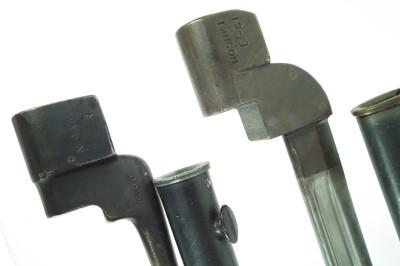 Lot 79 - Three bayonets