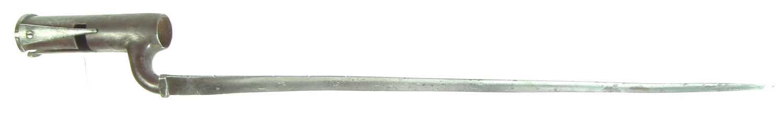 Lot 84 - Brown Bess musket bayonet
