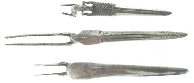 Lot 69 - Three Matchlock bayonets