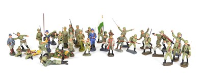 Lot 99 - Collection of 36 German Toy Soldiers