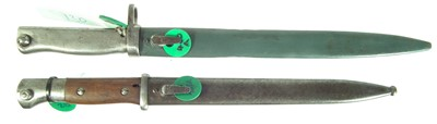 Lot 68 - Two German bayonets and scabbards