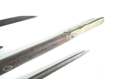 Lot 72 - Two British socket bayonets