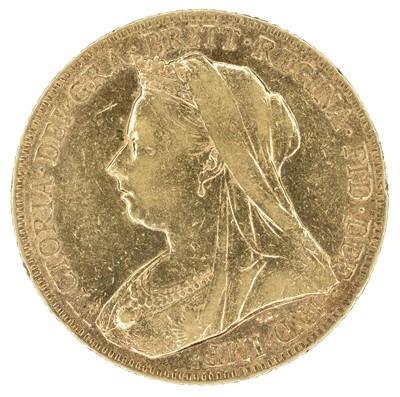 Lot 30 - Queen Victoria, Sovereign, 1900, Perth Mint.