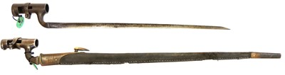 Lot 78 - Two British socket bayonets, to include