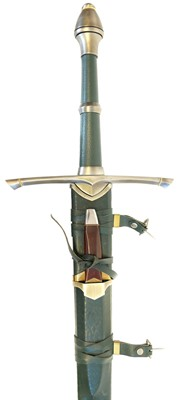 Lot 26 - Lord of the Rings Strider's hand and a half sword with dagger