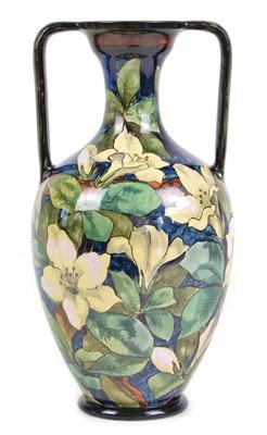 Lot Doulton Lambeth Twin Handled Vase