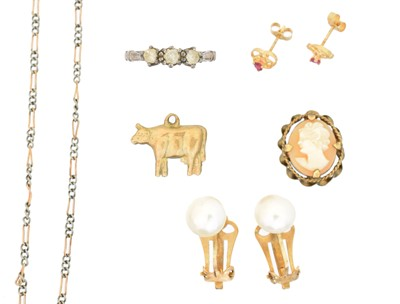 Lot 80 - A selection of  jewellery