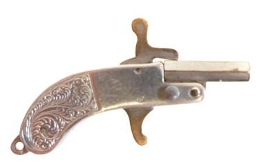 Lot 203 - 2mm pinfire miniature pistol
