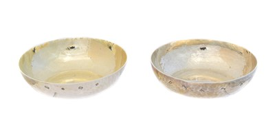 Lot 179 - A pair of Elizabeth II silver dishes