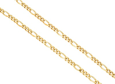 Lot 85 - An 18ct gold chain necklace