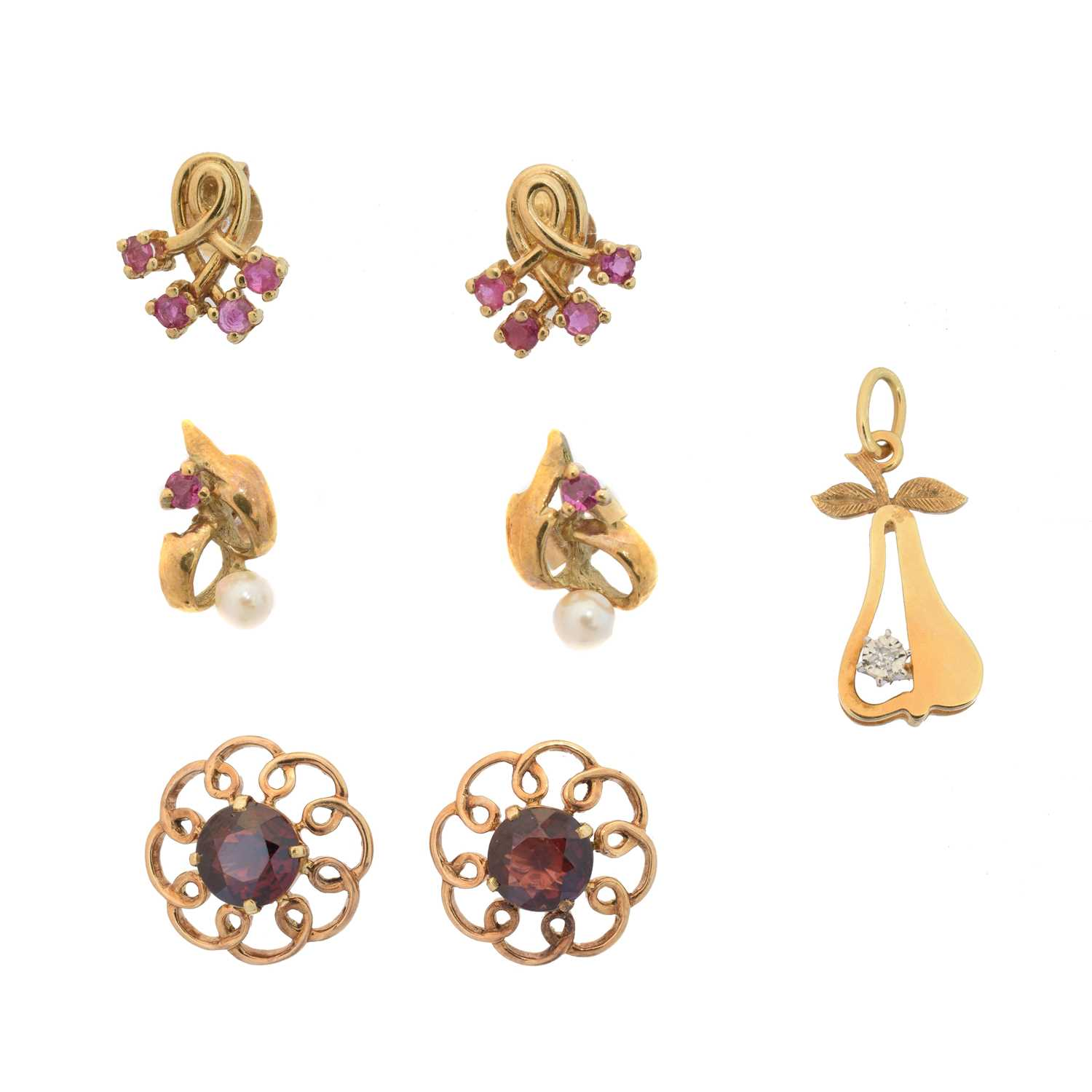Lot 21 - A selection of  jewellery