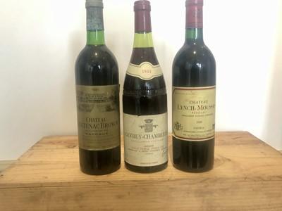 Lot 9 - 3 Bottles Mixed Lot Grand Cru Classe Claret and Fine Burgundy