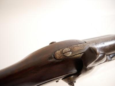 Lot 293 - Rare East India Company percussion musket