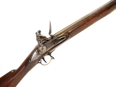 Lot 299 - East India Company Baker pattern musket