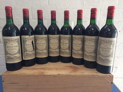 Lot 24 - 8 Bottles Chateau Gazin Grand Vin de Pomerol 1987 (7 b/n or above, 1 vts)