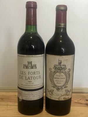Lot 17 - 2 Bottles Lot Fine and Very Rare Claret Chateau Ferriere and Les Forts de Latour
